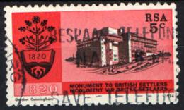 SUD AFRICA - 1974 - MONUMENTO AI COLONI BRITANNICI - USATO - Sud Africa (1961-...)