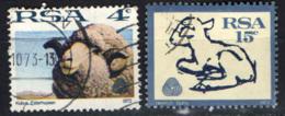SUD AFRICA - 1972 - INDUSTRIA DELLA LANA - USATI - Sud Africa (1961-...)