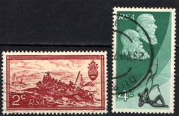SUD AFRICA - 1971 - MARTINUS STEYN E PAUL KRUGER - MONUMENTO ALL'UNIFICAZIONE - USATI - Sud Africa (1961-...)