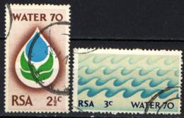 SUD AFRICA - 1970 - WATER '70 - CAMPAGNA DI SENSIBILIZZAZIONE SUL CONSUMO DELL'ACQUA - USATI - África Del Sur (1961-...)