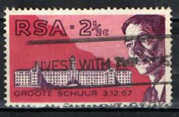SUD AFRICA - 1969 - DOTTOR BARNARD E L'OSPEDALE DI GROTE SHUUR - USATO - Sud Africa (1961-...)