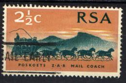 SUD AFRICA - 1969 - CENTENARIO DEL FRANCOBOLLO SUDAFRICANO - USATO - Sud Africa (1961-...)