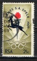 SUD AFRICA - 1969 - CAMPIONATI NAZIONALI DEL SUD AFRICA - USATO - Sud Africa (1961-...)