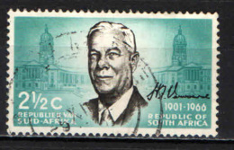 SUD AFRICA - 1966 - DR. VERWOERD (1901-1966), PRIMO MINISTRO - USATO - Sud Africa (1961-...)