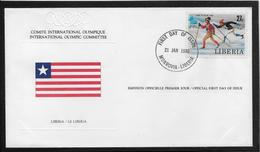 Thème Jeux Olympiques Moscou 1980 - Enveloppe - Summer 1980: Moscow