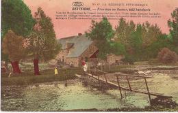 Resteigne - Mouli, Paserelle Animée Colorisé - Circulé 1918 - N) 13 La Belgique Pittoresque - Tellin