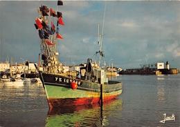 ¤¤   -   ILE D'YEU  -  Port Joinville  -  Bateau De Pêche   -  ¤¤ - Ile D'Yeu