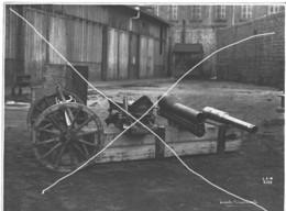 Armée Française  ARTILLERIE CANONS    14-18 Gros Plan  Grand Format - Krieg, Militär