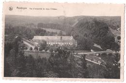 Resteigne - Vue Ensemble Vieux Château Et Pont - Circulé 1947 - Edit. Vve Daury - Thitaux, Hôtel De La Lesse - Tellin