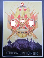 Postkarte Propaganda Reichsparteitage Nürnberg 1938 - Briefe U. Dokumente