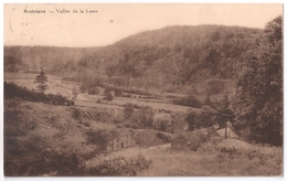 Resteigne - Vallée De La Lesse Et Maisons - Circulé 1937 - Edit. Daury - Thitaux, Hôtel De La Lesse - Desaix - Tellin