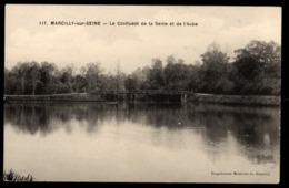 51 -  MARCILLY SUR SEINE (Marne) - Le Confluent De La Seine Et De L'Aube - France
