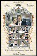Guyana 2002 Sheet Mi 7342/47** MNH - Dutch Royal Wedding - Prince Willem Alexander / Miss Maxima Zorrequieta - Guyane (1966-...)