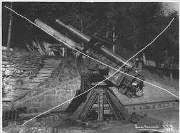 Armée Française  ARTILLERIE CANON AFFUT AVIATION DCA ?    14-18 Gros Plan  Grand Format - Krieg, Militär