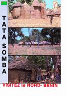 République Populaire Du Bénin, Nord Bénin, TATA SOMBA, Enfants Nus, Cases, Vélos, Photo Hazoumé, Ed. S.A.P.E.C. 1991 - Benin