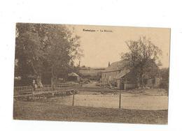 Resteigne - Moulin Passerelle Dame - Circulé - Edit. Daury - Thitaux, Hôtel De La Lesse - Desaix - Tellin