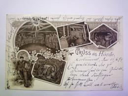 GP 2019 - 1642  GRUSS  Aus  HÖRDE   1899    XXX - Autres