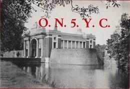 QSL Card Amateur Radio Station Funkkarte 1976 Menenpoort Ieper WW1 WWI Memorial Poelkapelle - Radio Amatoriale
