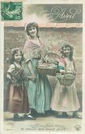Carte  , Belle Femme , 1 Er   Avril            AQ742 - 1er Avril - Poisson D'avril