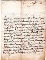 Lettre Envoyée De LYON  1795  2 Pages Recto Verso - Marcofilie (Brieven)