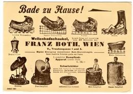 Wellenbadschaukel Franz Both Wien - Advertising