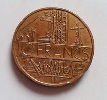 FRANCE 10 FRANCS MATHIEU 1977          N°45 D - France