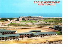 BENIN, COTONOU école Montaigne, Vue Aérienne, Sheraton Hôtel, Photo Hazoume, Ed. S.A.P.E.C. 1990 Environ - Benin