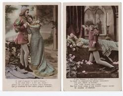 CPA - COUPLE - ROMÉO ET JULIETTE - 2 Cartes - Couples