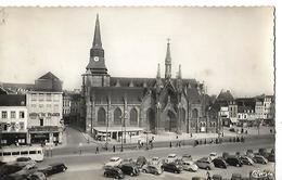 Carte Photo 1958 / 59 ROUBAIX / Eglise St Martin / Place / Voitures Citroen ; Renault, Peugeot, Simca - Roubaix