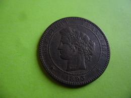 FRANCE - 10 CENTIMES CERES BRONZE 1893 A - Francia