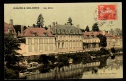 51 -  MARCILLY SUR SEINE (Marne) - Les Quais - France