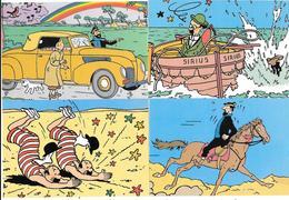 "LOT 20 CARTES POSTALES . BD . ""  Les AVENTURES De TINTIN "" Par HERGE - Other Illustrators"