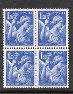 YT 434 - H - Signature Graveur Absente ( 2 Variétés Tenant à 2 Normaux) - Variétés: 1941-44 Neufs