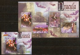 Irlande Ireland Eire 1997 Yvertn° Bloc 26 Et 27 (°) Oblitéré Used Cote 11 Euro Dracula - Blocs-feuillets