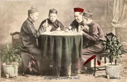 Chine - Hong-Kong - Chinese At Meal - China (Hong Kong)