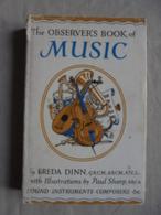Ancien Petit Livre The Observer's Book Of Music De Freda Dinn 1969 - Culture