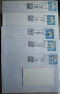 België 2016 Collect & Stamp (5 Omslagen Klein Formaat) - Maschinenstempel