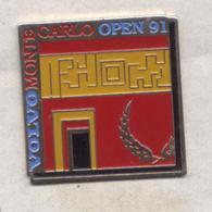 PIN'S TENNIS OPEN MONTE CARLO 1991 VOLVO - Tennis