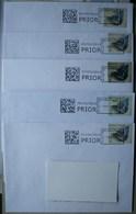 België 2015 Collect & Stamp (5 Omslagen Klein Formaat) - Maschinenstempel