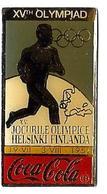 C82 - JO HELSINKI 1952 - XVth OLYMPIAD - COCA COLA - Verso : C 1990 IOC / R THE CC / C / SOURCE - Coca-Cola