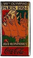 C83 - JO PARIS 1924 - VIIIth OLYMPIAD - COCA COLA - Verso : C 1990 IOC / R THE CC / C / SOURCE - Coca-Cola
