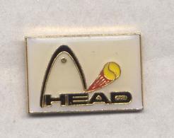 PIN'S TENNIS OPEN MONTE CARLO 1991  HEAD RAQUETTE - Tennis