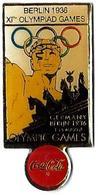 C84 - JO BERLIN 1936 - XIth OLYMPIAD - COCA COLA - Verso : C 1990 IOC / R THE CC / C / SOURCE - Coca-Cola
