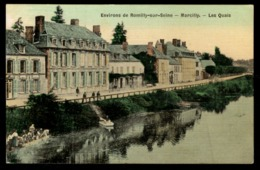 51 -  MARCILLY - Environs De ROMILLY SUR SEINE - Les Quais - France