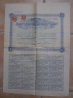 Au Plus Rapide Titre Complet Gold Mining Company Mine D'or Carsevène Londres Septembre 1901 - Mines