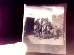 Photo ,  Algérie , Négatif , Nu , Humiliation , 1930 , Armée Française , Militaire . - Lieux