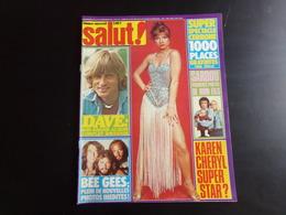 "Revue "" Salut "" N° 81, 1978, Cerrone, Elton John, Louis Chédid ... - Gente"