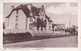 SAINT-DOMINEUC - La Gendarmerie - RARE - Très Bon état - Sonstige Gemeinden