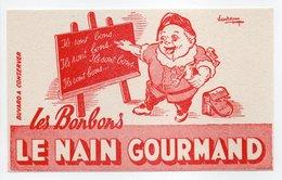 - BUVARD Les Bonbons LE NAIN GOURMAND - - Alimentaire
