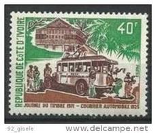 """Cote Ivoire YT 311 """" Journée Du Timbre """" 1971 Neuf** - Côte D'Ivoire (1960-...)"""